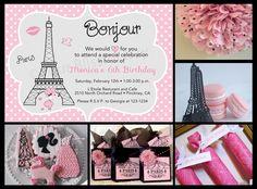 Paris Party Ideas • Your Blissful Day