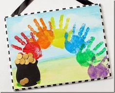 7 St. Patricks Day Hand Art Crafts & TGIF