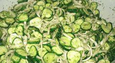 Okurkový salát na hubnutí Ketogenic Recipes, Keto Recipes, Cooking Recipes, Good Food, Yummy Food, Russian Recipes, Kefir, No Cook Meals, Cucumber