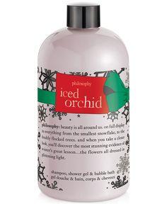 philosophy iced orchid shower gel, 16 oz
