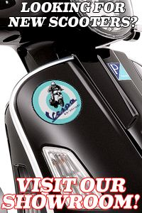 We have parts for new and vintage Vespas, and we have a list of new and used scooters for sale in our showroom at 3955 Pacific Hwy.