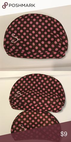 Toiletry bag set Two bags. Has an S embroidered on them. Clean. Barely used. No marks. No stains. No tears. Bags Cosmetic Bags & Cases
