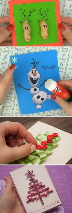 DIY Ideas and Tutorials to Create Your Very Own Christmas Card