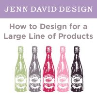 When designing for a large line of products, there are unique factors to consider.