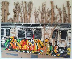 "Saatchi Art Artist Matthew Spencer; Painting, ""Carriage"" #art"