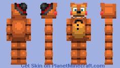 FNAF - Puppet Minecraft Skin