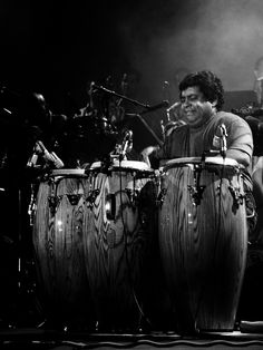 Musician Giovanni Hidalgo (Congas) @ All About Jazz