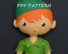 Patrón de costura de PDF para hacer fieltro espantapájaros. by Kosucas | Etsy