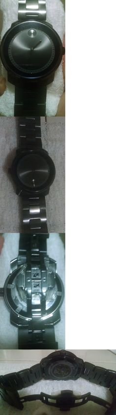 Other Mens Jewelry 177770: Movado Men S 3600296 Bold 43Mm Black Dial Pvd Stainless Steel Watch -> BUY IT NOW ONLY: $199 on eBay!