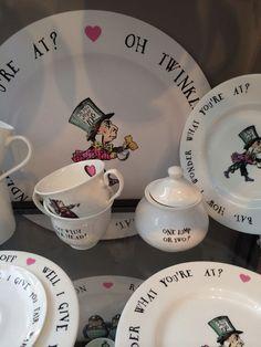 Alice in Wonderland Crockery!