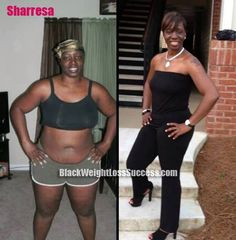 black women workout too | after story: Sharresa lost 65 pounds with calorie counting, exercise ...