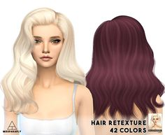 Miss Paraply: Alesso`s - Omen hairstyle retextured - Sims 4 Hairs - http://sims4hairs.com/miss-paraply-alessos-omen-hairstyle-retextured/