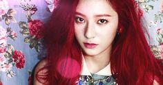 F(x) Krystal red hair
