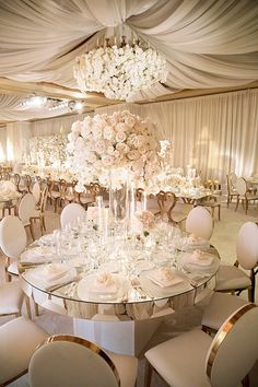 elegant pink and gold wedding reception with tall centerpiece wedding centerpieces 15 Elegant Wedding Reception Ideas to Love - EmmaLovesWeddings Wedding Reception Ideas, Wedding Hall Decorations, Wedding Table Centerpieces, Wedding Ceremony, Wedding Venues, Wedding Planning, Tall Centerpiece, Wedding Themes, Centerpiece Ideas