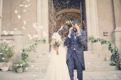#BodaSomethingBlue, Decoración de Bodas, Wedding Planner Madrid, Organización de Bodas, Novios iglesia arroz