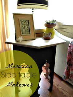 Moroccan Side Table Makeover   Houseologie.com