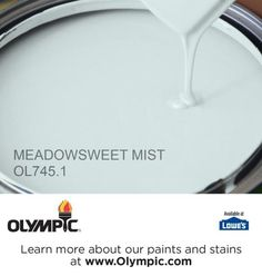 MEADOWSWEET MIST OL745.1 is a part of the aquas collection by Olympic® Paint.