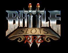 Battle Slots RPG Logo by Michael Myers, via Behance