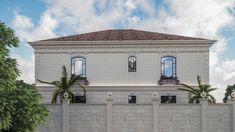 Best villa exteriors Gate Design, House Design, Entrance Gates, Interior Design Companies, Exterior Design, Villa, Florida, Mansions, Luxury