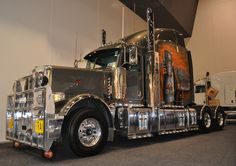 """Peterbilt (it will haul triples up the North-West of Australia), pinned by Ton van der Veer"