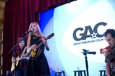 Sarah Darling at The Lodge at the CMA Music Festival in Nashville on June 10, 2012. Photo by Keely Marie Scott., 2012