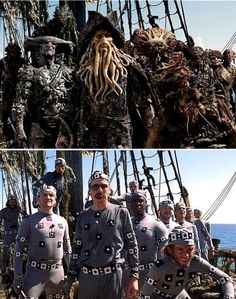 47 Famous Movie Scenes Before-And-After Special Effects - Goodfullness Famous Movie Scenes, Famous Movies, Forrest Gump, Photography Series, Creative Photography, Draco, Captain Jack Sparrow, Disneyland Trip, Fantasy Movies