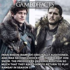 OMG can you imagine? Game Of Thrones Facts, Got Game Of Thrones, Game Of Thrones Quotes, Winter Is Here, Winter Is Coming, Iwan Rheon, The North Remembers, Valar Dohaeris, Dire Wolf