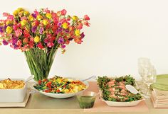 Colorful Delicious 5 Dishes For a Memorable Brunch''Enjoy ;)''