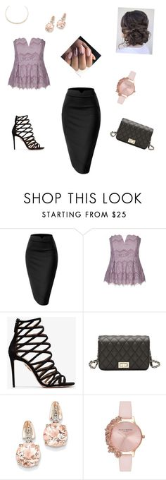 """Untitled #25"" by mirnesasalihbasic ❤ liked on Polyvore featuring Aquazzura, BillyTheTree, Olivia Burton and Alexis Bittar"