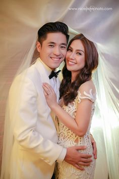 This is certainly a cause for celebration, darlings! Kaye Abad and Paul Jake Castillo's official wedding photos by Nice Print Photography are here to grace our screens today, and we couldn… Filipiniana Wedding Theme, Wedding Bride, Wedding Blog, Wedding Gowns, Wedding Photos, Dream Wedding, Wedding Makeup, Francis Libiran Wedding Gown, Castles