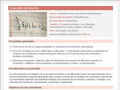 Screenshot de Secuencia Didáctica #15177 - Concepto de función