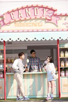 [CF] IU & Song Jae Rim – Sbenu 2015