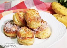 f:id:tenukitchen:20190715013145j:plain Donut Recipes, Sweets Recipes, Baking Recipes, Desserts, Pretzel Bites, Doughnut, Donuts, Muffin, Food And Drink