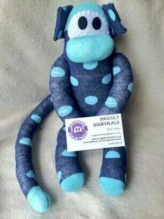 Sock monkey.  Hand made at www.facebook.com/snugglysockimals