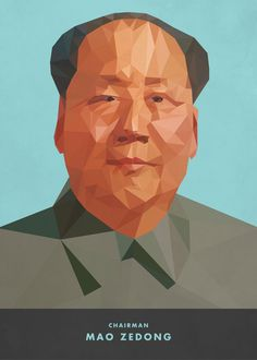 Low-Poly Mao Zedong