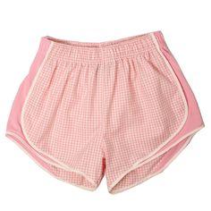 Pink Gingham Shorties| Lauren James Co.