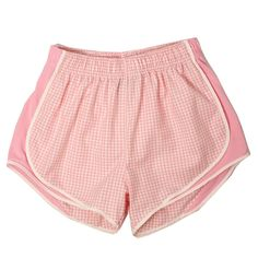 Pink Gingham Shorties| Lauren James Co.
