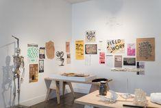 California College of the Arts: The Immediate Archive Exhibition