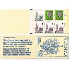 1979 CANADA STAMP BOOKLET SCOTT #797a (1x1¢), #800 (3x5¢) & #789a (2x17¢), Maple Tree. Buy it on eBid Canada | 151874144