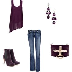 Purple, created by annie-newman on Polyvore
