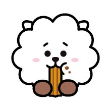 UNIVERSTAR is now available as LINE Emoji. Spice up your chat with UNIVERSTAR Must-have Emoji! Bts Chibi, Tumblr Stickers, Cute Stickers, Bts Summer Package, Bt 21, Line Friends, Bts Drawings, Bts Fans, Cute Cartoon Wallpapers