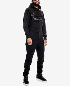 4aad6d96e8 Champion Men s Super Fleece Overalls   Reviews - All Activewear - Men -  Macy s
