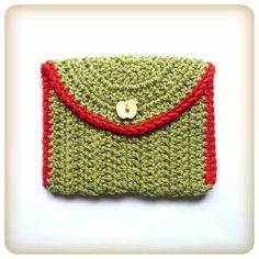 Little Treasures Envelope Clutch: free pattern