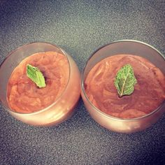 Vegan mint chocolate mousse | Experiments in veganism