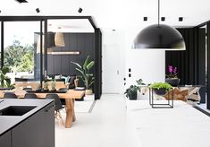 Our Spring 16' front cover has to be one of our favourite featured homes. Photography by Anastasia Kariofyllidis http://www.queenslandhomes.com.au/monochrome-glass-house/