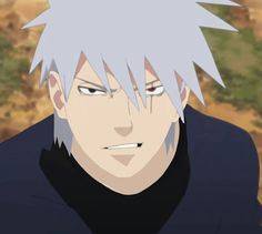 Kakashi without mask❤❤❤ OMG he looks like an older Soul (from soul eater) .-.
