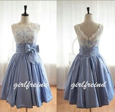 Cute lace halter ball gown / prom dress / by Girlsfriend on Etsy, $168.90  i love this!