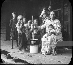 Appalachian Mountain People and Music | Butter-making, Appalachia, USA, c1917. Photograph taken during Cecil ...