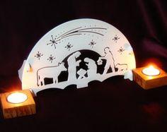 Escena de la Natividad gótico por PeWood en Etsy