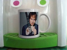 Ed Sheeran singer cool photo albume cover mug cup two side ceramic 11oz